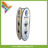 Advertising 3 Tri-side vertical Pop-out A Frame Banner Stand