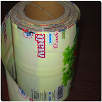Customized Printed PVC Plastic Shrink Lable Film Rolls