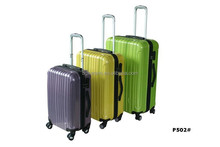 ABS+PC high-grade aluminum alloy trolley bar trolley luggage
