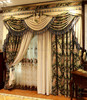 Polyester blackout fabric window curtain /blackout curtain/indian window curtains