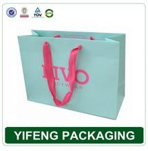 GuangZhou factory hot sale handmade luxury brand bag, custom printed paper gift bag