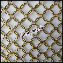 Best selling Chain mail ring mesh decorative screen