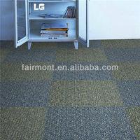 Waterproof Carpet Tiles/100% Nylon Carpet Tiles with PVC Backing Gy-1