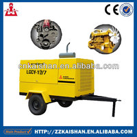 Hot Selling Diesel Portable Rotary Screw Air Compressor 643cfm 17Bar On Sale