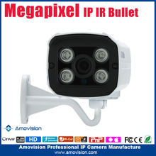1080P Array waterproof Support P2P Cloud Indoor Bullet small ip camera night vision