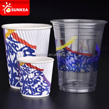 Plastic and paper cups manufacturers