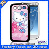 2015 mobile phone accessory 3d cute case for samsung galaxy s4 mini,battery replacement back cover case for xiaomi mi4
