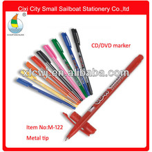 Hot sale fine line cd/dvd /vcd marker pen