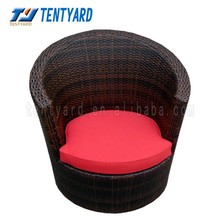 2015 hot sale red luxury lounger cushion,soft outdoor and indoor exquiteness sun lounger,decoretion your home cushion