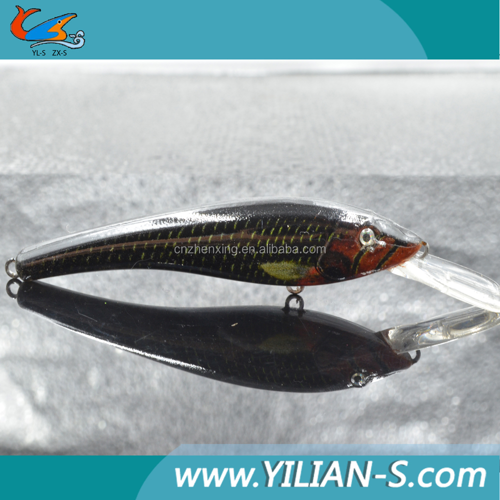New arrival 3d eyes 3 6 inch minnow mould lure for Fishing bait launcher