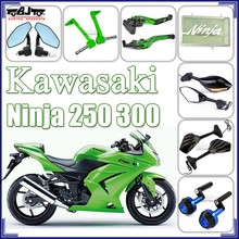 High Percision CNC Aluminum Kawasaki Ninja 250 Motorcycle Accessories Parts
