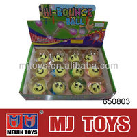 MIXED HIGH BOUNCING BALL 12PCS IN 1 PACK