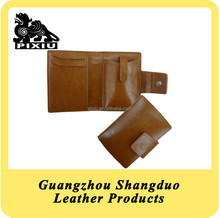 Top Quality Genuine Leather with Card Holder Mobile Phone Case