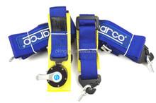 "Racing Street 5Point Bolt-In 3"" Seat Belt Harness (Blue)"