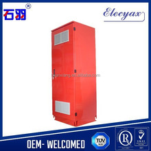 Rack metal enclosure for electronic equipments/Waterproof power supply cabinet/Outdoor case SK-301 with filter window fans
