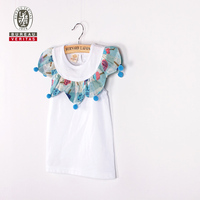 2014 kids wholesale clothing o-neck short outfit fashion summer boys t shirt