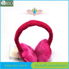 winter hat braids ear muffs