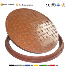 round manhole cover used on road or walkway or well cover
