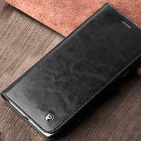 QIALINO Customized Oem Cow Leather Phone Case For Samsung Avant A8