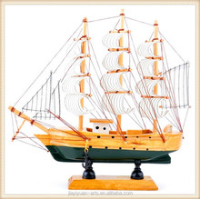 Mini Wooden Handmake Crafts Cheap Wooden Model Ship for sales