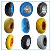 Tool carts wheelbarrow 2.50-4 3.00-4 3.50-4 4.00-6 3.50-8 4.00-8 Polyurethane flat free tire pu wheel