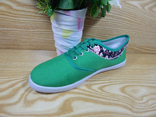 Flat shoes new model canvas shoes women