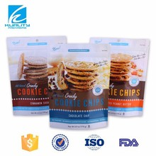 Safty food grade aluminium foil plastic biscuit and snack packaging