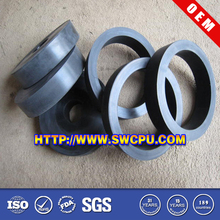 Rubber bushing for motor car components
