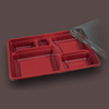 High quality lunch box bento compartment