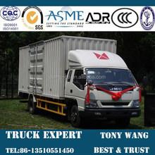 JMC 7 Ton Cargo Truck, Van truck,4x2 truck 156hp engine power for sale