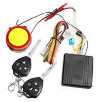 Remote activation motorcycle alarm motorcycle accessories motorcycle remote control + key
