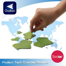 OEM Custom Creative Design Leaf Shape Home Decoration Sticky Note 2015 New Product China Wholesale
