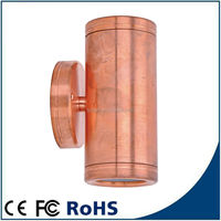 8 Inch Recessed Solid Copper Exterior Led Down Lamps Compound Wall Lights