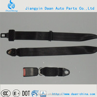 starburst buckle seat belt with buckle/tong