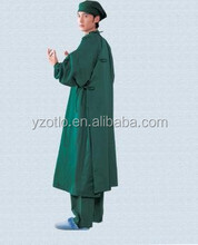 Childrens Disposable SMS Sterile Green Surgical Gown Supplier