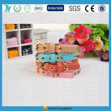 Luxury crystal dog collar jewelry leather collars
