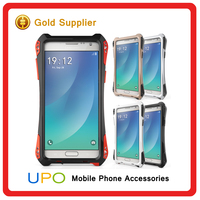 [UPO] Heavy duty Waterproof Shockproof Metal Hybird cell phone case for samsung galaxy note 5