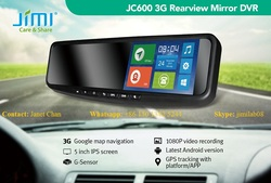 OE-STYLE GPS NAVIGATION, BLUETOOTH & BACK-UP CAMERA rear view mirror monitor