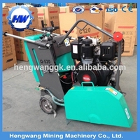 Asphalt Concrete Saw Cutting Machine/concrete road cutting diamond saw blades