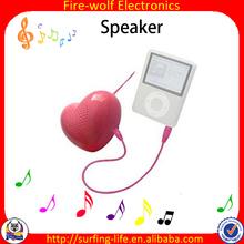 Sweet Heart Protable mini Speaker as Promotional Gift items for Doctors