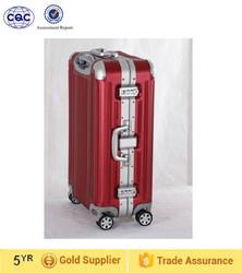 light weight luggage suitcase, aluminum travel case
