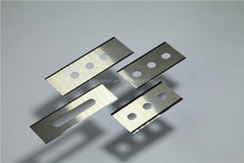 TST tungsten carbide 3-holes blade for film cutting foil cutting