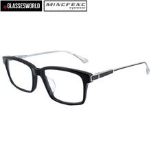 Custom Designer Eyeglasses with Acetate and Titan Frame Optics