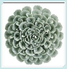 Beautiful home decor porcelain wall flower