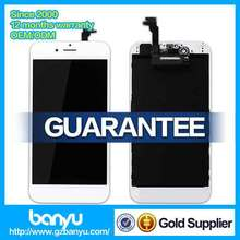 New arrival high quality replacement screen digitizer assembly for iphone 6 lcd