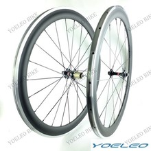 2014 Top Value U-Shape 700C 25MM Wide 50mm Bicycle Wheels Clincher Carbon Alloy