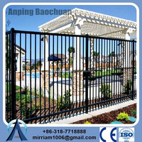 arts iron wrought used steel garden building durability wrought iron fence