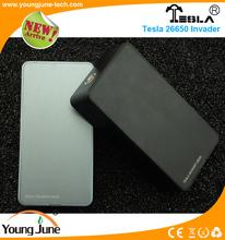 Best Selling Products Box Mod 0.1Ohm Resistance Tesla 26650 Batteries Invader Box Mod New Technology