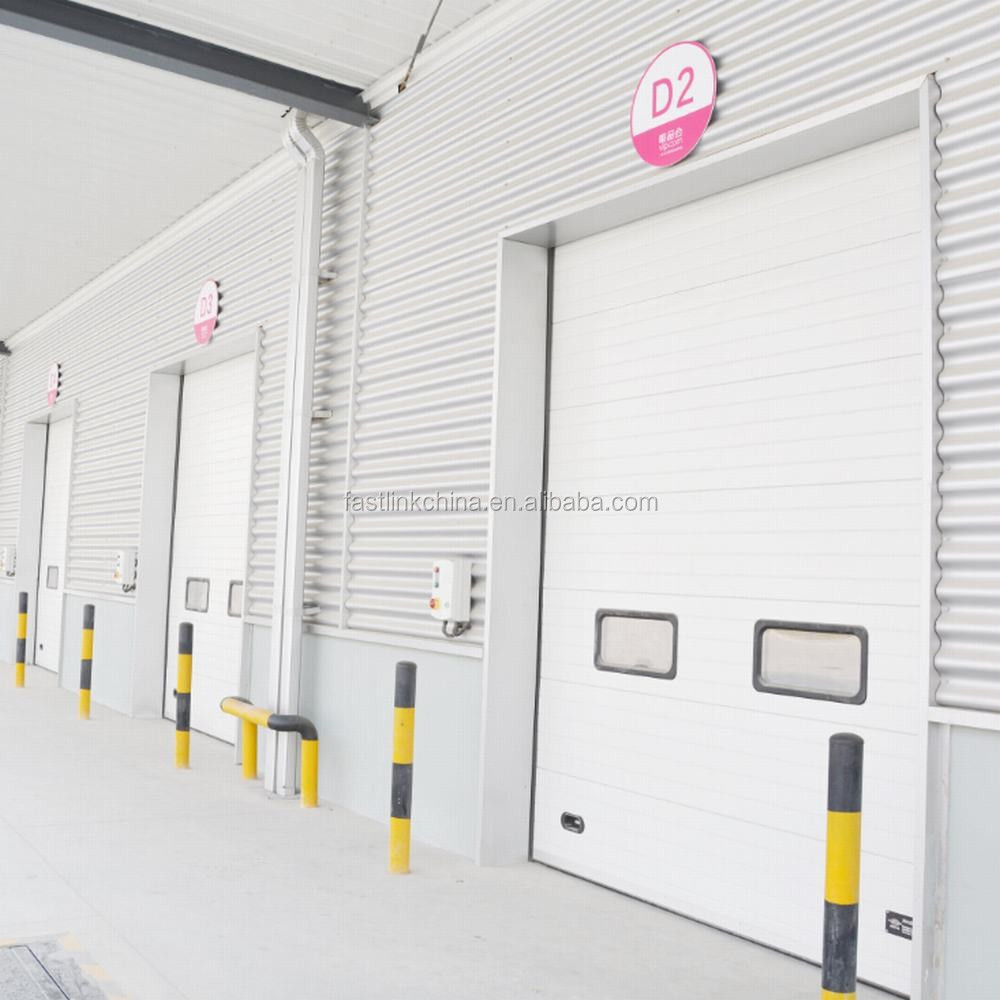 Sectional Garage Doors Product : Industrial overhead insulated sectional door buy