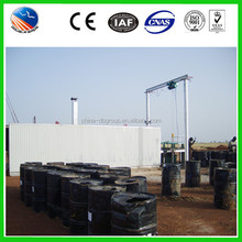 Use Asphalt/bitumen Drummed Asphalt Melting Equipment 3-4t/h